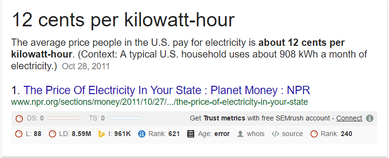 12 cents KWH electricity in california.PNG-The Real Cost Of Poor Electricity In Nigeria Is The Economy