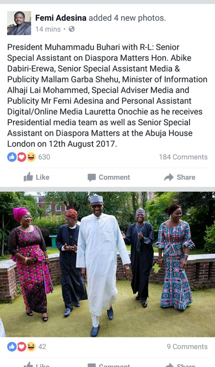 buharii.jpg-President Buhari Smiling And Full Of Life In New Photos In London