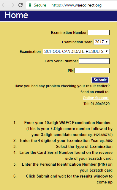 how to check waec result 2017.PNG-This Image Explains How To Check Your 2017 Waec Result!