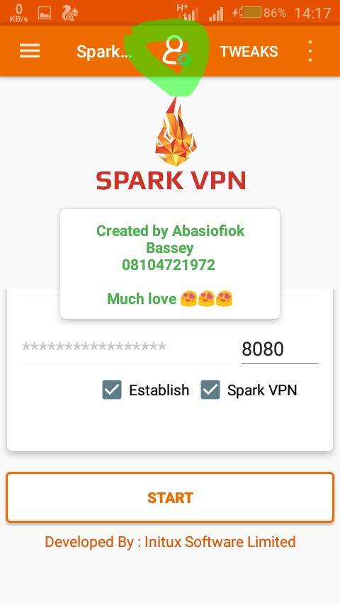 IMG_20180912_141947_225.jpg-Mtn 0.0k Free Browsing Tweak Using Sparkvpn With Super Speed