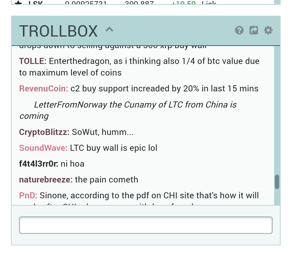 poloniex.com chat box.png-Best 4 Exchange Sites For Bitcoin|altcoins Trading In Nigeria
