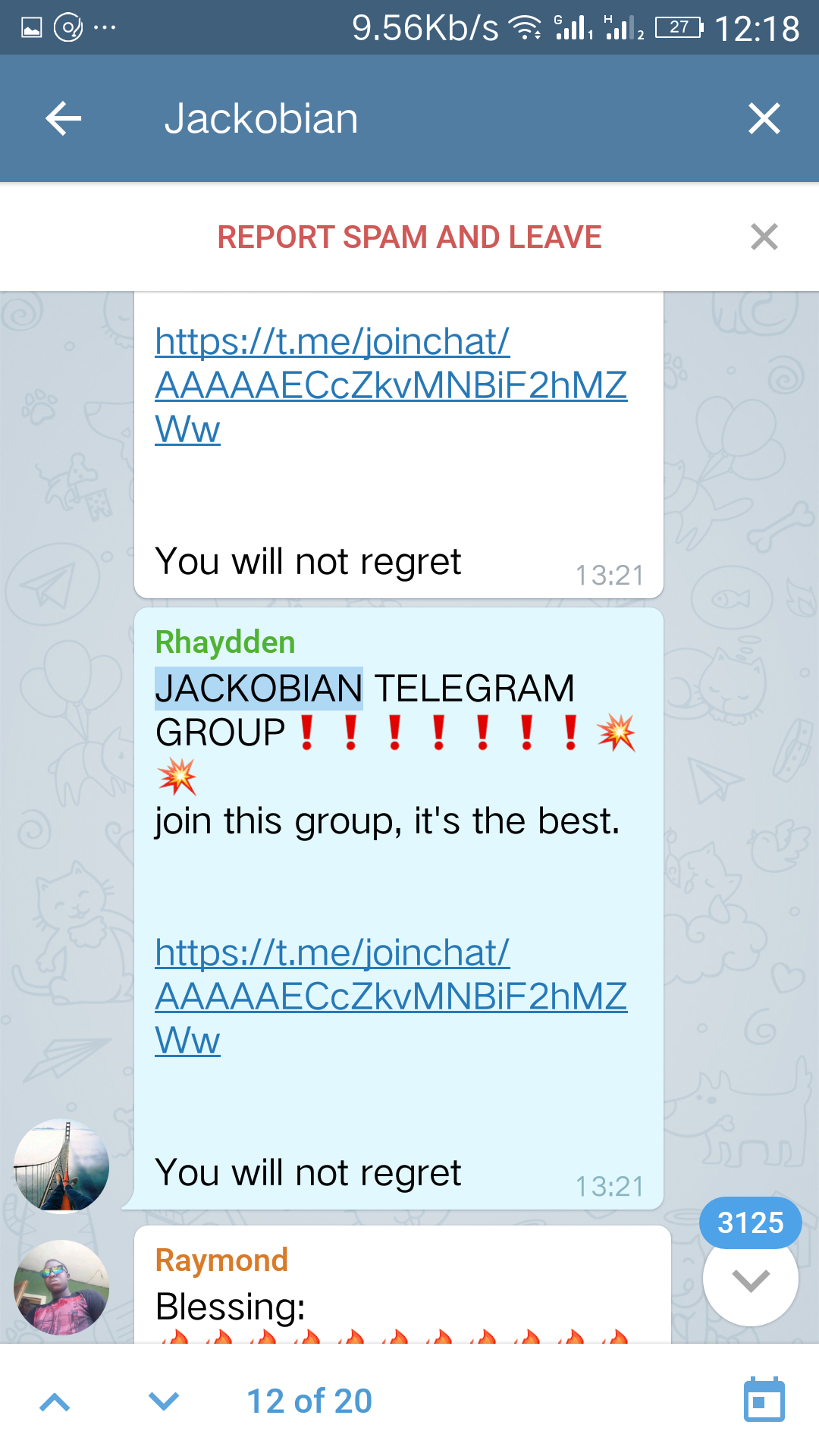 Ponzi on telegram with Jackobian.png-Ponzi & Jackobian! We Need To Do Better Than Fashola