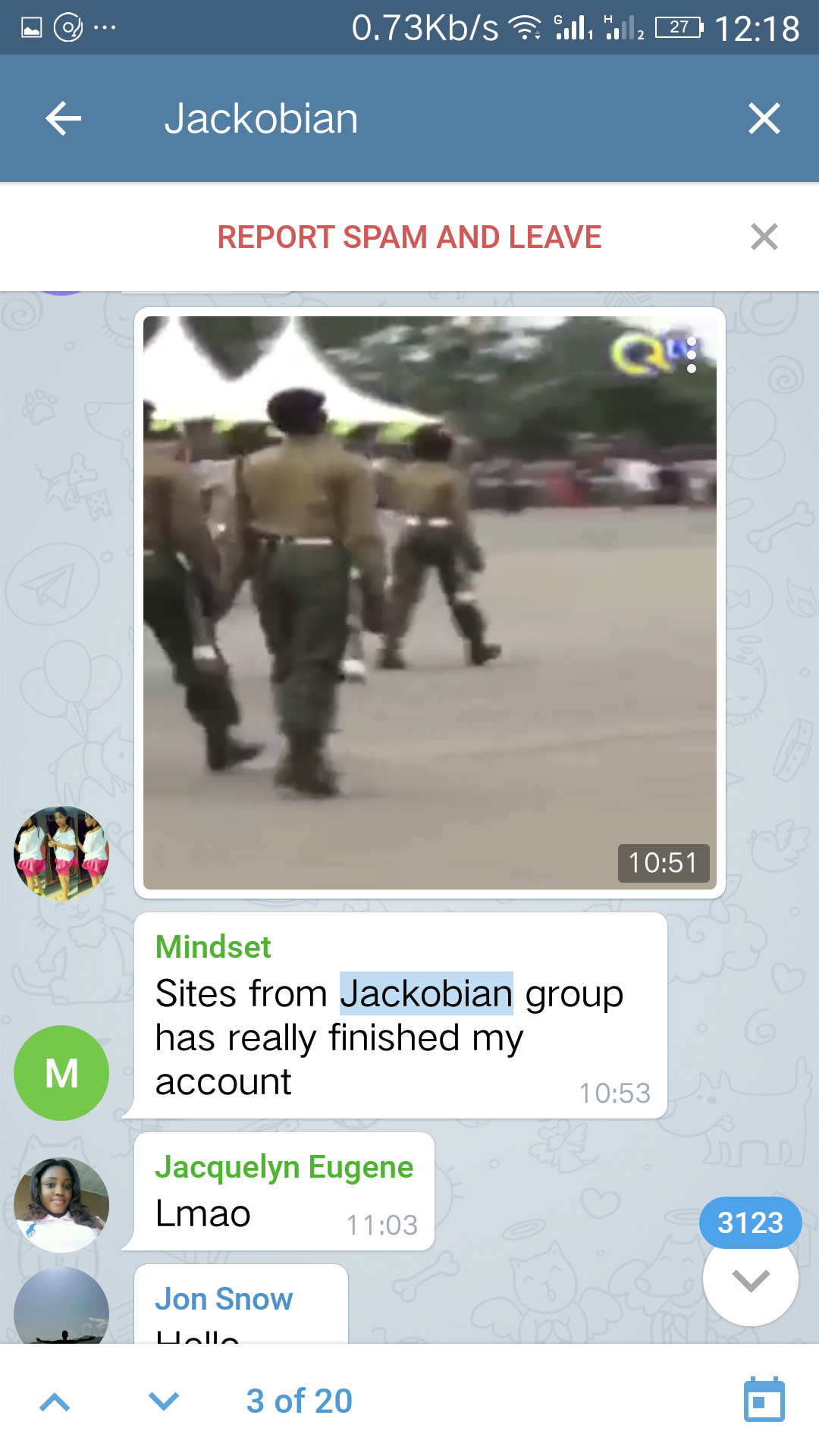 Ponzi telegram Jackobian.png-Ponzi & Jackobian! We Need To Do Better Than Fashola