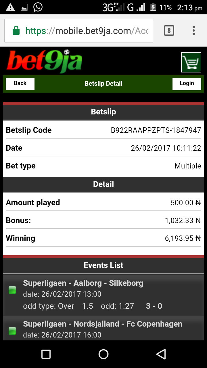 Bet9ja Sure Everyday 5odds And Booking Number  Today's Games