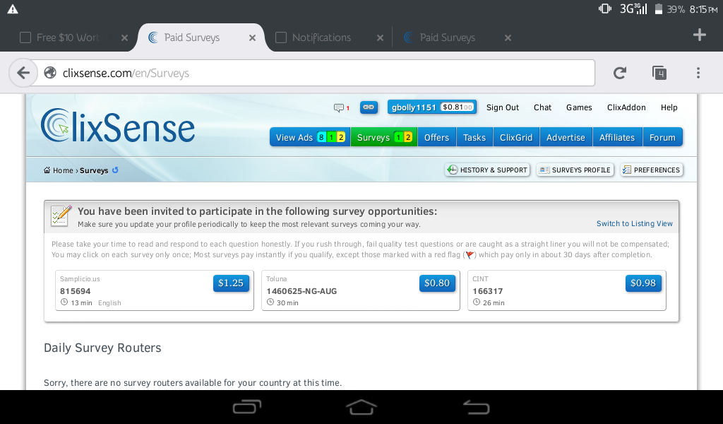 Make Money For Free With Clixsense Here | Jackobian Forums