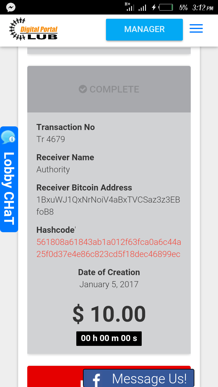 Screenshot_20170105-151212.png-Awesome!!!...get 100% Of Your Ph In Just 8 Days (payment Proof) Get In Here And Get Rich