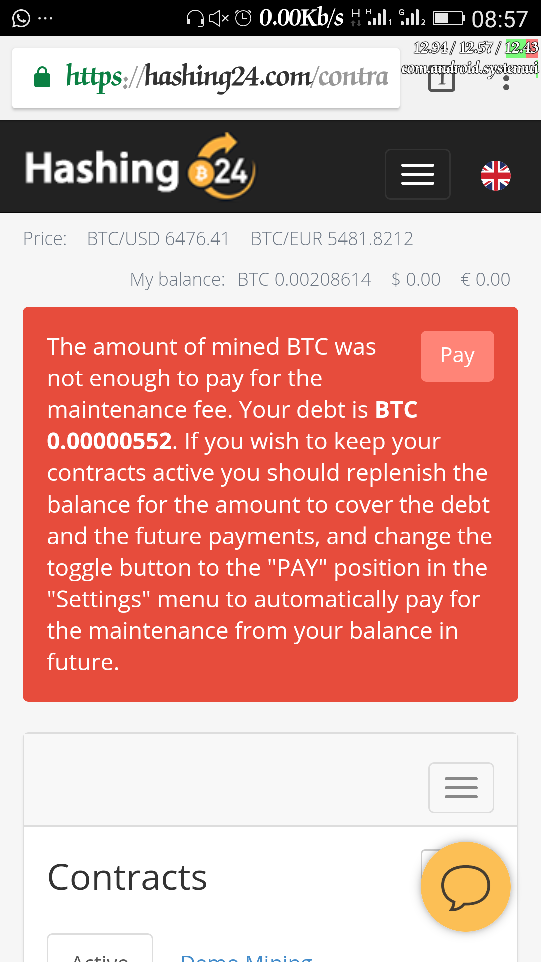 Screenshot_20180614-085736.png-As Bitcoin Becomes Relatively Unprofitable To Mine, Buy 3th/s @ $0.48 Only