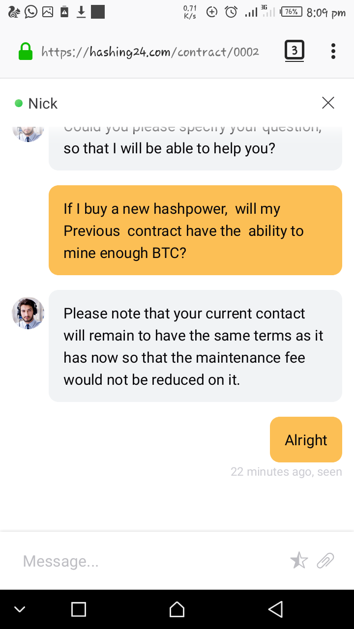 Screenshot_20180706-200954.png-I Can't Believe This,  Hashing24 Is A Scam.