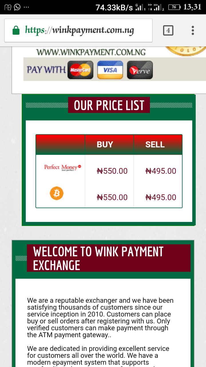 wink payment bitcoin rate.png-Buy Bitcoins In Nigeria At Central Bank Of Bitcoins Jackobian